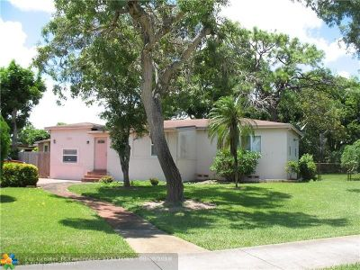 Fort Lauderdale Single Family Home For Sale: 221 Carolina Ave