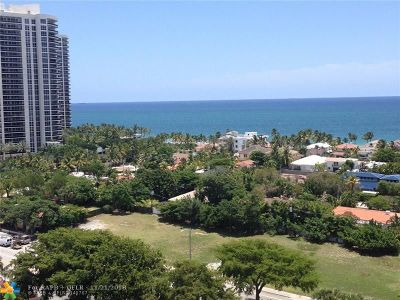 Fort Lauderdale Condo/Townhouse For Sale: 3015 N Ocean Blvd #14-D