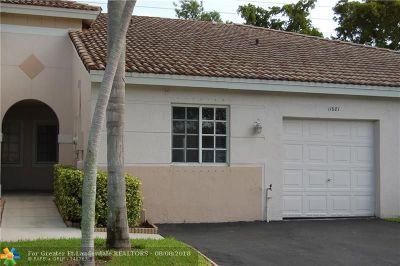 Miramar Condo/Townhouse Backup Contract-Call LA: 11681 SW 17th Ct #160