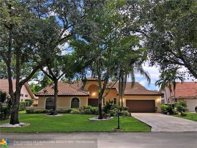 Parkland Single Family Home For Sale: 5931 NW 63rd Pl