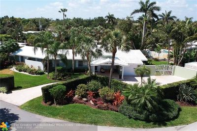 Fort Lauderdale Single Family Home For Sale: 2557 NE 27th Ave