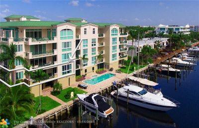 Fort Lauderdale Condo/Townhouse For Sale: 400 Hendricks Isle #201