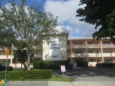 Coral Springs Condo/Townhouse For Sale: 8821 NW 38th Dr #105 A