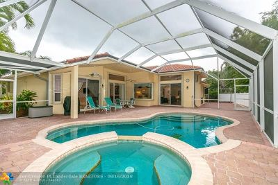 Coral Springs Single Family Home Backup Contract-Call LA: 4200 NW 66th Ter