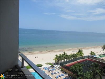 Fort Lauderdale Condo/Townhouse For Sale: 4040 Galt Ocean Dr #808
