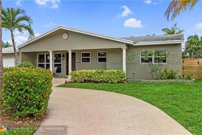 Wilton Manors Single Family Home For Sale: 1639 NE 28th St