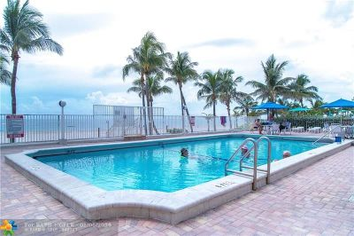 Pompano Beach Condo/Townhouse For Sale: 1000 S Ocean #PHD