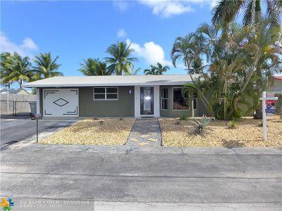 Pompano Beach Single Family Home Backup Contract-Call LA: 1510 SW 4th Ave