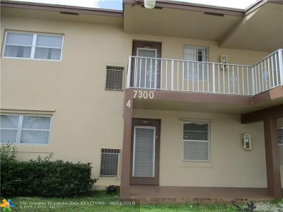 Margate Condo/Townhouse For Sale: 7300 NW 4th Place #201