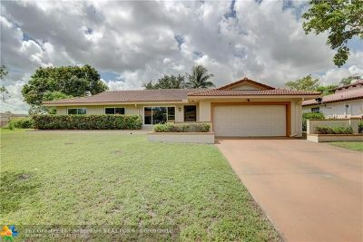 Coral Springs Single Family Home Backup Contract-Call LA: 8704 NW 27th St