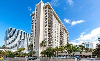 Fort Lauderdale Condo/Townhouse For Sale: 336 N Birch Rd #PH-A