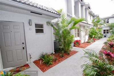 Fort Lauderdale Condo/Townhouse For Sale: 801 SE 16th Ct #10
