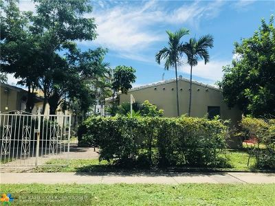 Broward County Multi Family Home For Sale: 1730 Pierce St