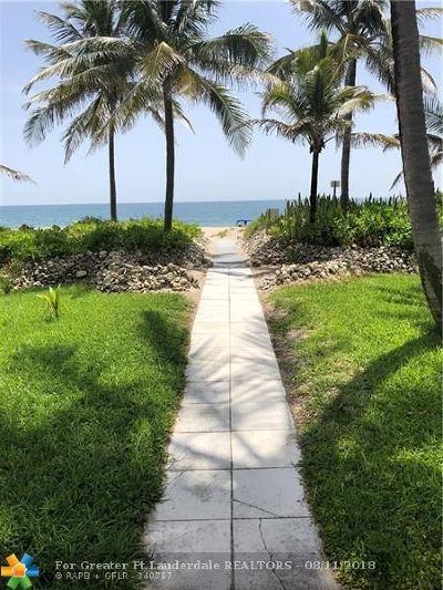 Pompano Beach Condo/Townhouse For Sale: 401 Briny Ave #612
