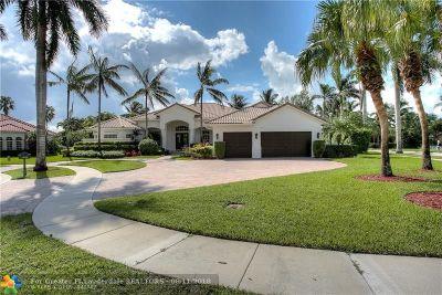 Plantation Single Family Home For Sale: 10808 Golden Eagle Ct