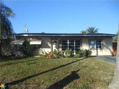 Pompano Beach Single Family Home For Sale: 2731 NE 8th Ave