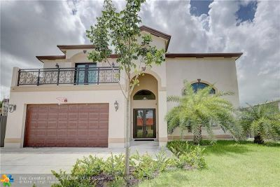Miramar Single Family Home For Sale: 1720 SW 98th Ave