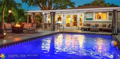 Wilton Manors Single Family Home For Sale: 2533 NE 8th Ter