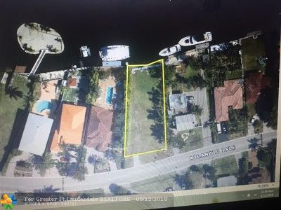 Sunny Isles Beach Residential Lots & Land For Sale: 217 Atlantic Isle