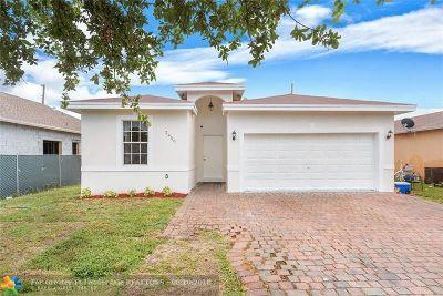 Pompano Beach Single Family Home Backup Contract-Call LA: 2450 NW 4th Ct