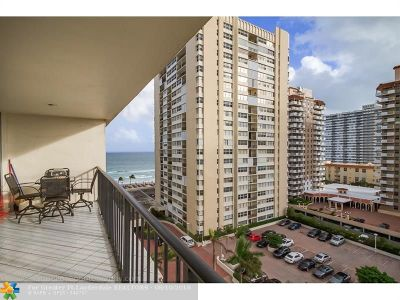 Hallandale Condo/Townhouse For Sale: 1880 S Ocean Dr #TS101