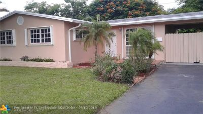 Fort Lauderdale Single Family Home For Sale: 3616 SW 23rd Ct