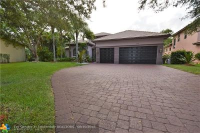 Parkland Single Family Home For Sale: 7181 NW 71st Ter