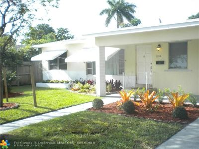 Fort Lauderdale Single Family Home For Sale: 1110 SW 31st St
