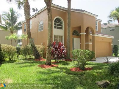 Coral Springs Single Family Home For Sale: 113 NW 118 Th Dr