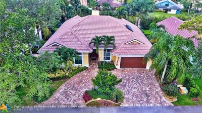 Coral Springs Single Family Home For Sale: 3801 Lancewood Dr