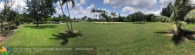 Southwest Ranches Residential Lots & Land For Sale: 5200 SW 198th Ter