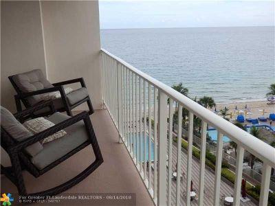 Fort Lauderdale Condo/Townhouse For Sale: 4100 Galt Ocean Dr #807