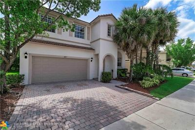 Coral Springs Single Family Home For Sale: 889 NW 126th Ave