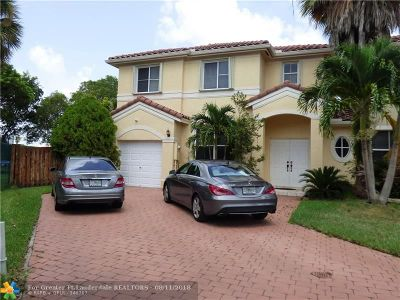 Miramar Condo/Townhouse For Sale: 17149 SW 38th St #17149