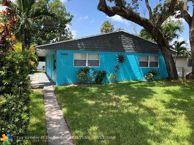 Fort Lauderdale Multi Family Home For Sale: 1435 SW 24th Ct