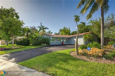 Fort Lauderdale Single Family Home For Sale: 901 Mango Isle