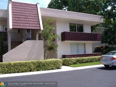 Pompano Beach FL Condo/Townhouse For Sale: $150,000
