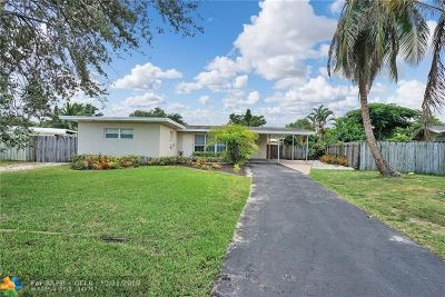 Fort Lauderdale Single Family Home For Sale: 1281 SW 29th Ter