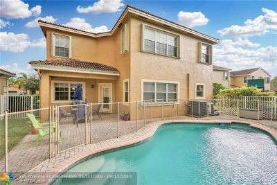 Coral Springs Single Family Home Backup Contract-Call LA: 12623 NW 6th St