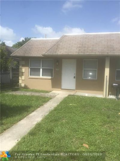 Fort Lauderdale Multi Family Home For Sale: 1607 NW 8th Ave