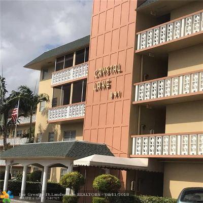 Pompano Beach FL Condo/Townhouse For Sale: $129,900