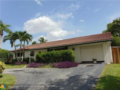Coral Springs Single Family Home For Sale: 7603 NW 42nd Ct