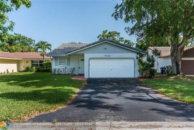 Coral Springs Single Family Home For Sale: 8749 NW 21st Ct