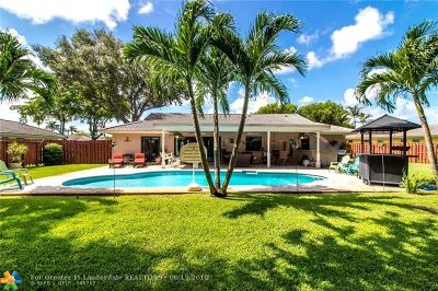 Coral Springs Single Family Home For Sale: 10453 NW 2nd St