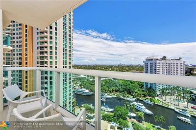 Fort Lauderdale Condo/Townhouse For Sale: 347 N New River Dr #1811