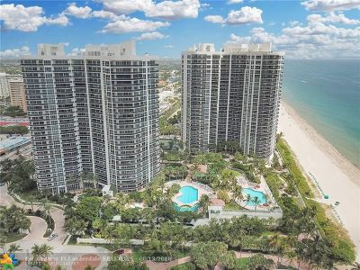 Broward County Condo/Townhouse For Sale: 3200 N Ocean Blvd #306