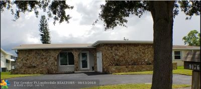 Sunrise Single Family Home For Sale: 9176 NW 24th Pl