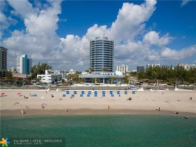 Condo/Townhouse For Sale: 701 N Fort Lauderdale Beach Blvd #1401