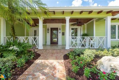 Fort Lauderdale Single Family Home For Sale: 1108 S Rio Vista Blvd