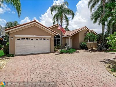 Coral Springs Single Family Home Backup Contract-Call LA: 5333 N Springs Way
